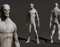 Bat Character 3D Model
