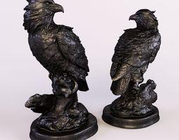 3D printable model statuette Eagle