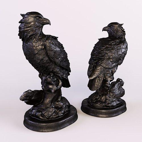 eagle 3d model max obj fbx stl mtl 1