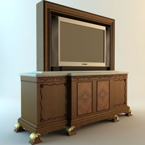 TV and Stand3D model