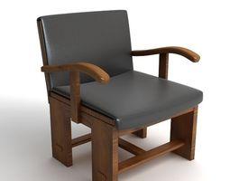 Italian Armchair 3D Model