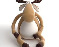 Toy Moose 3D Model