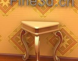 Antique Table 09 075a 3D Model