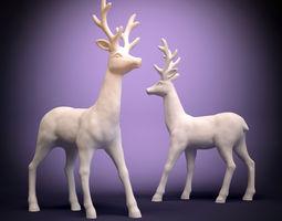 deer -1s 3d print model
