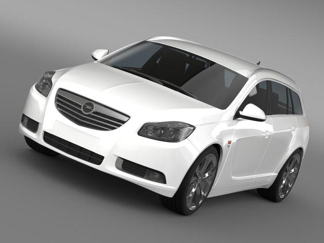 Opel Insignia OPC Line Sports Tourer 20133D model