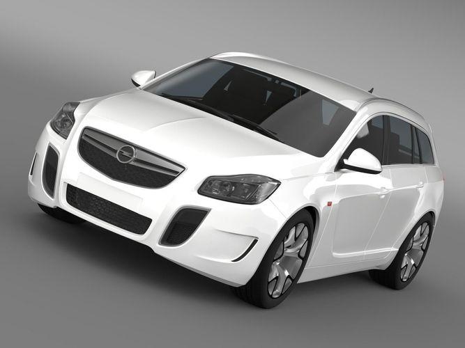 Opel Insignia OPC Sports Tourer 20133D model