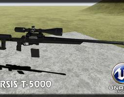 Orsis T-5000 3D asset