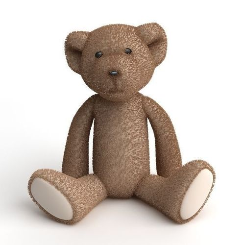 Stuffed Toy Teddy Bear3D model