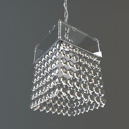 Hanging crystal chandelier 3d cgtrader hanging crystal chandelier 3d model aloadofball Image collections