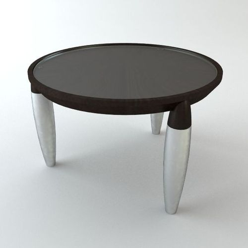 Round Tripod Table3D model