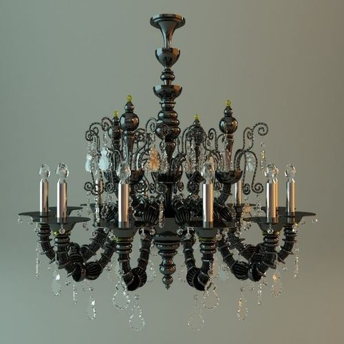Antique Chandelier3D model
