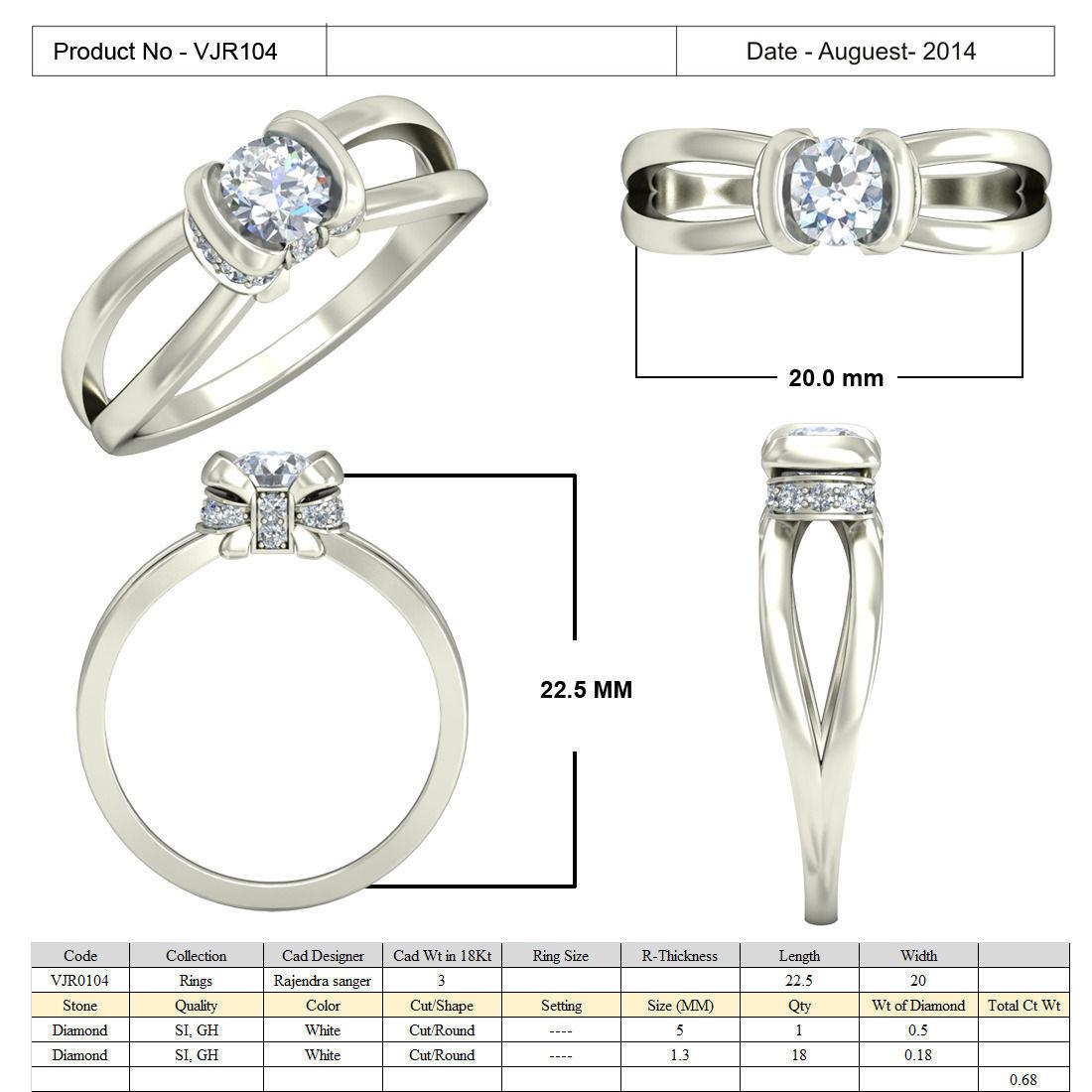 jewelry 3d cad stl files