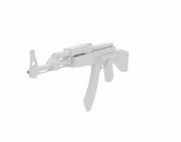 Kalashnikov AK-47  3D Model