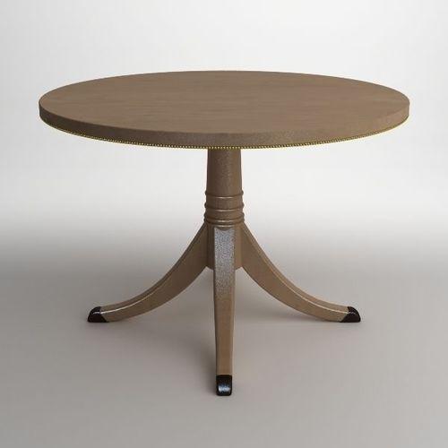 Elegant Classical Style Table3D model