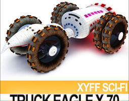 xyff sci fi truck terran eagle x 70 3d