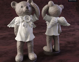 Bear angel-1 3D model