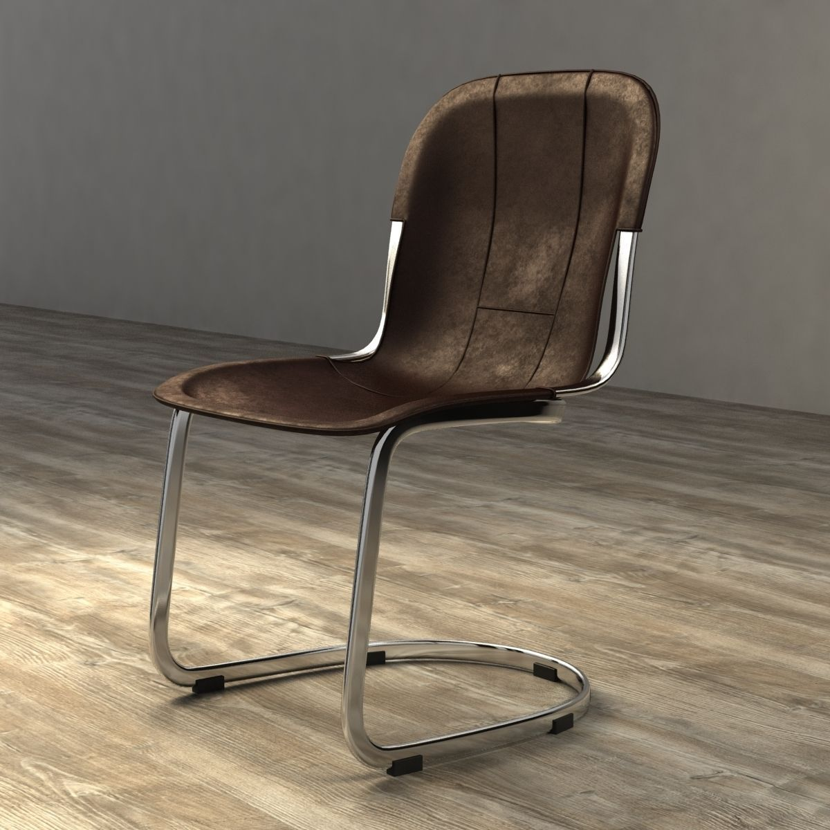 Marvelous Restoration Hardware Rizzo Leather Side Chair 3D Model Ocoug Best Dining Table And Chair Ideas Images Ocougorg