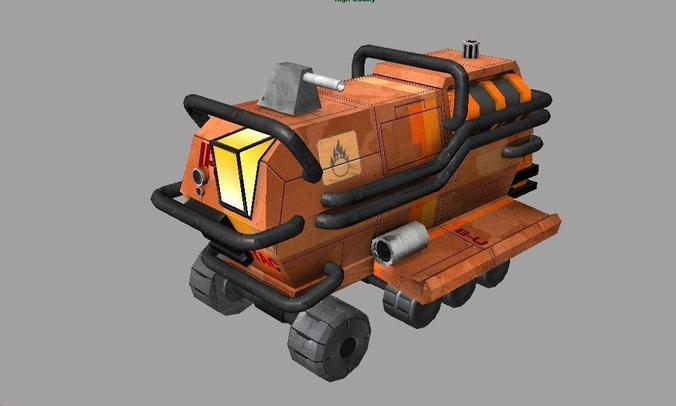 Rover Recon Truck3D model