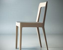 HIROSHIMA SIMPLE CHAIR - Buy 1 get 1 free 3D Model