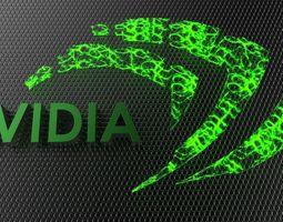 nVidia Logo 3D model
