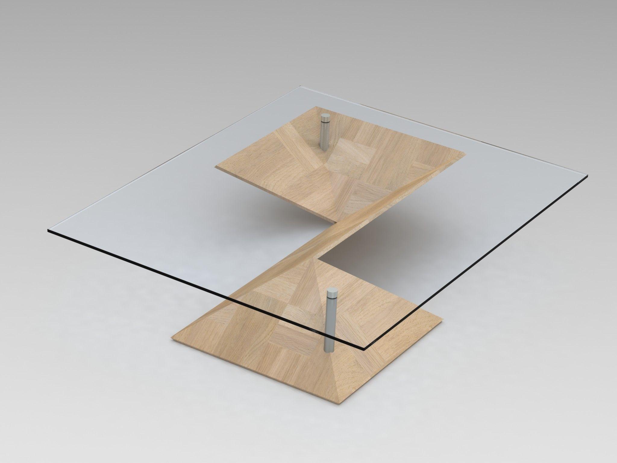 ... Origami Coffee Table 3d Model Sldprt Sldasm Slddrw Ige Igs Iges 2 ...