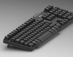 Keyboard Dell 3D model