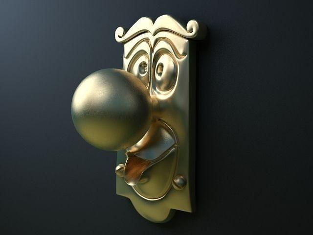 3D model Door Knob | CGTrader