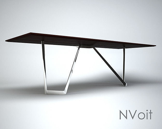 table 3d model max obj 3ds fbx mtl 1