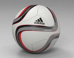 euro qualifier 2016 official match  ball 3D Model
