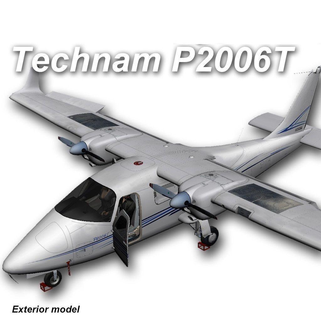 Tecnam P2006T Exterior