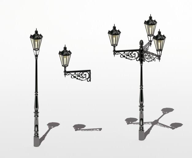 Prague Streetlamps