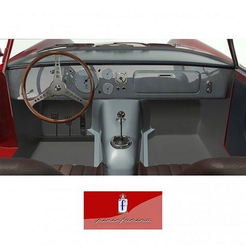 1953 maserati a6 gcs 53 pininfarina berlin... 3d model max 2