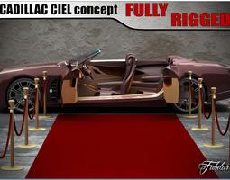 Cadillac Ciel 2 0 3D model