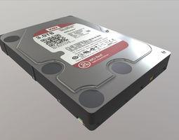 3D asset Western Digital WD30EFRX