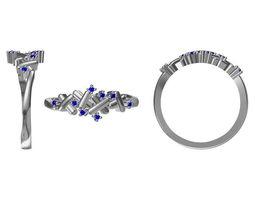 3D model Diamond Ring 1969