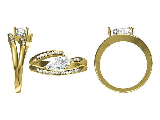 Diamond Ring 2022 3D Model JCAD JCD