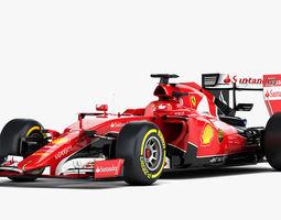 ferrari sf15-t formula 2015 3d model obj