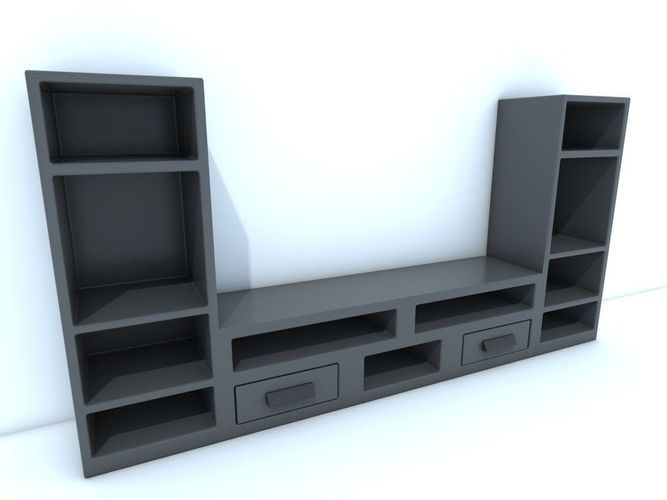 TV stand3D model