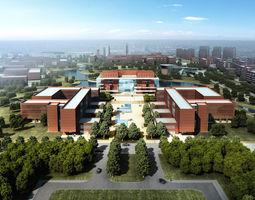 city School Buildings 3D model