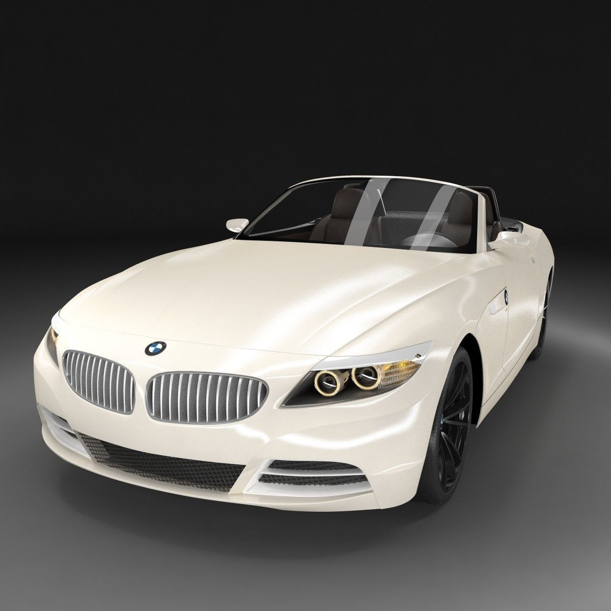 2009 Bmw Z4 Convertible: BMW Z4 2009 3D Model .max .obj