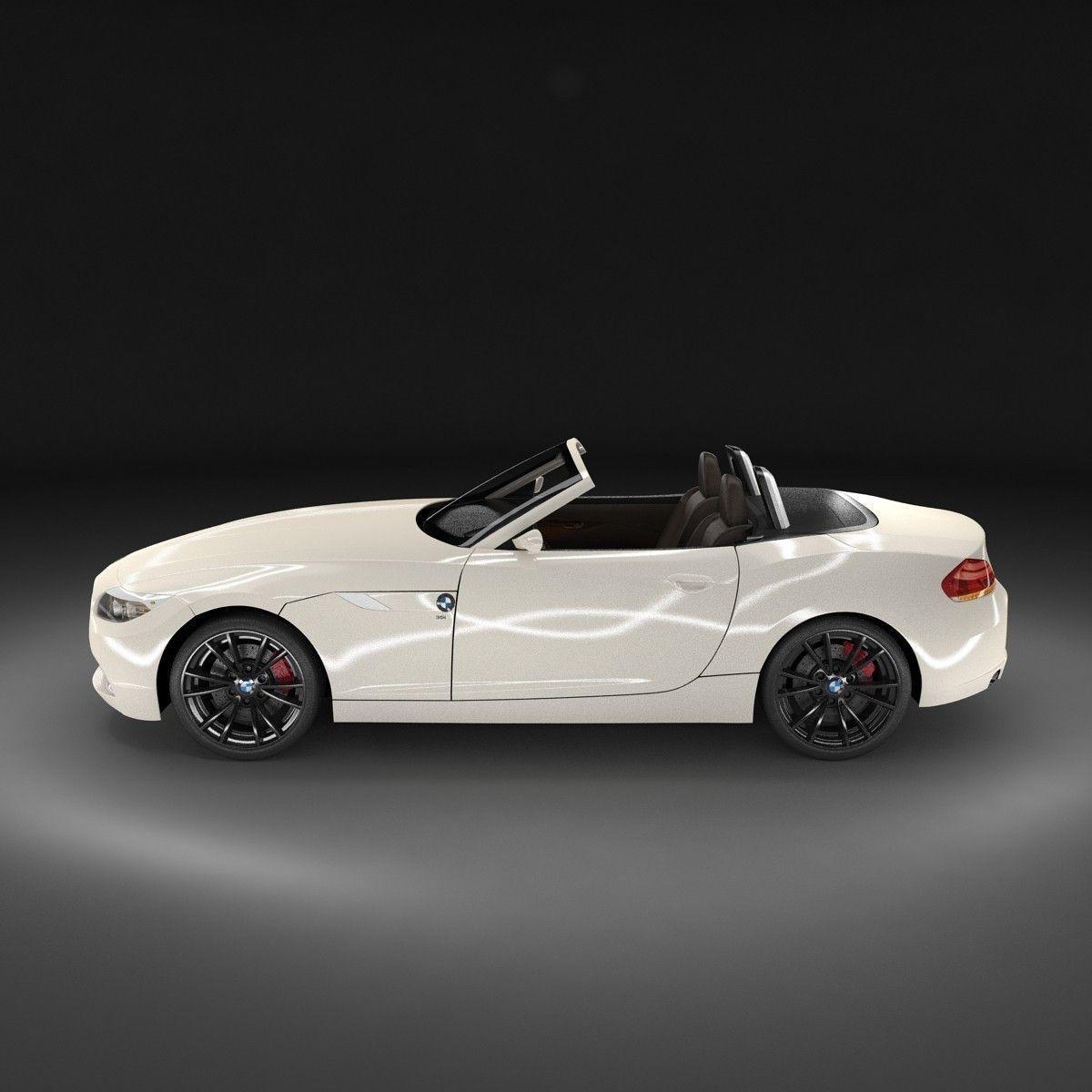Bmw Z4 2009: BMW Z4 2009 3D Model .max .obj