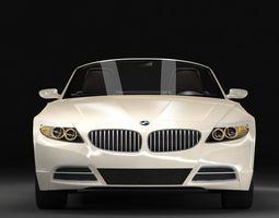 BMW Z4 2009 3D Model