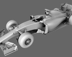 Ferrari SF15-T Season 2015 Formula 3D Model