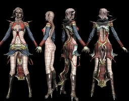 Character 3d model 3D Model