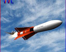 falcon gar-1 missile 3d