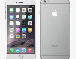 3D model Apple iPhone 6 Plus All Color