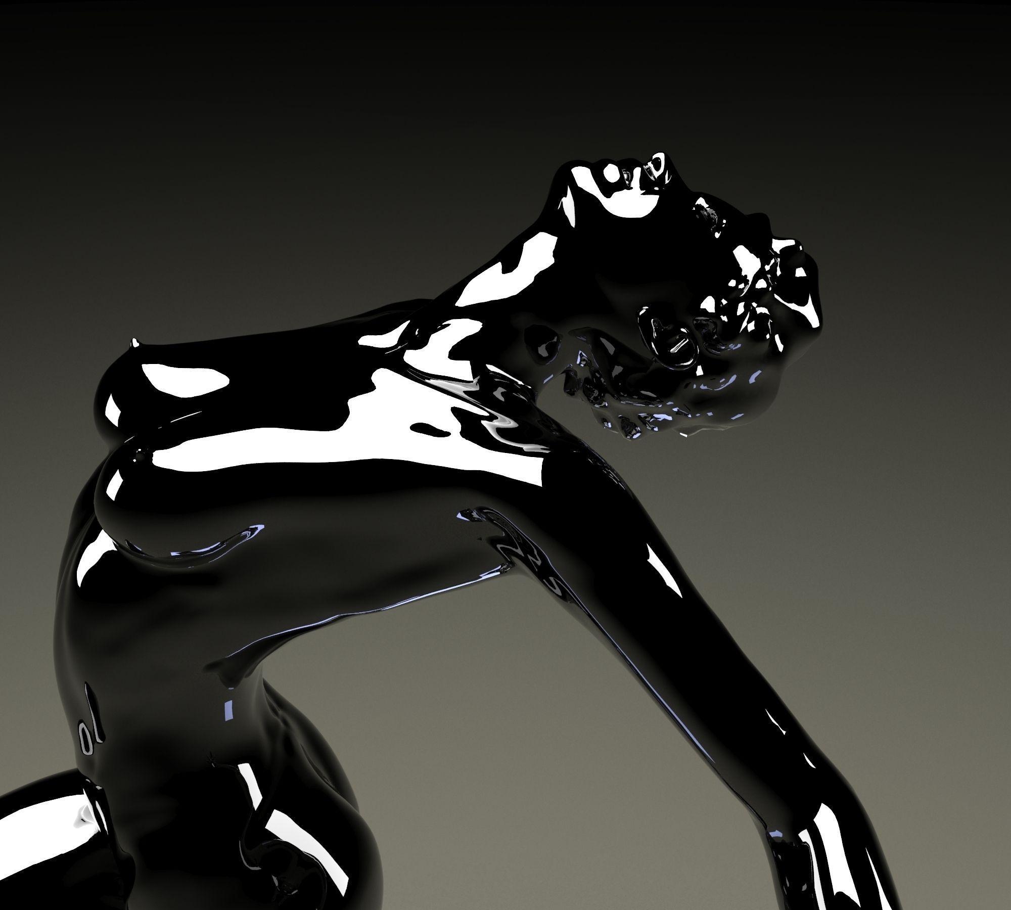 Pretty Lady 3D Model 3D Printable .stl