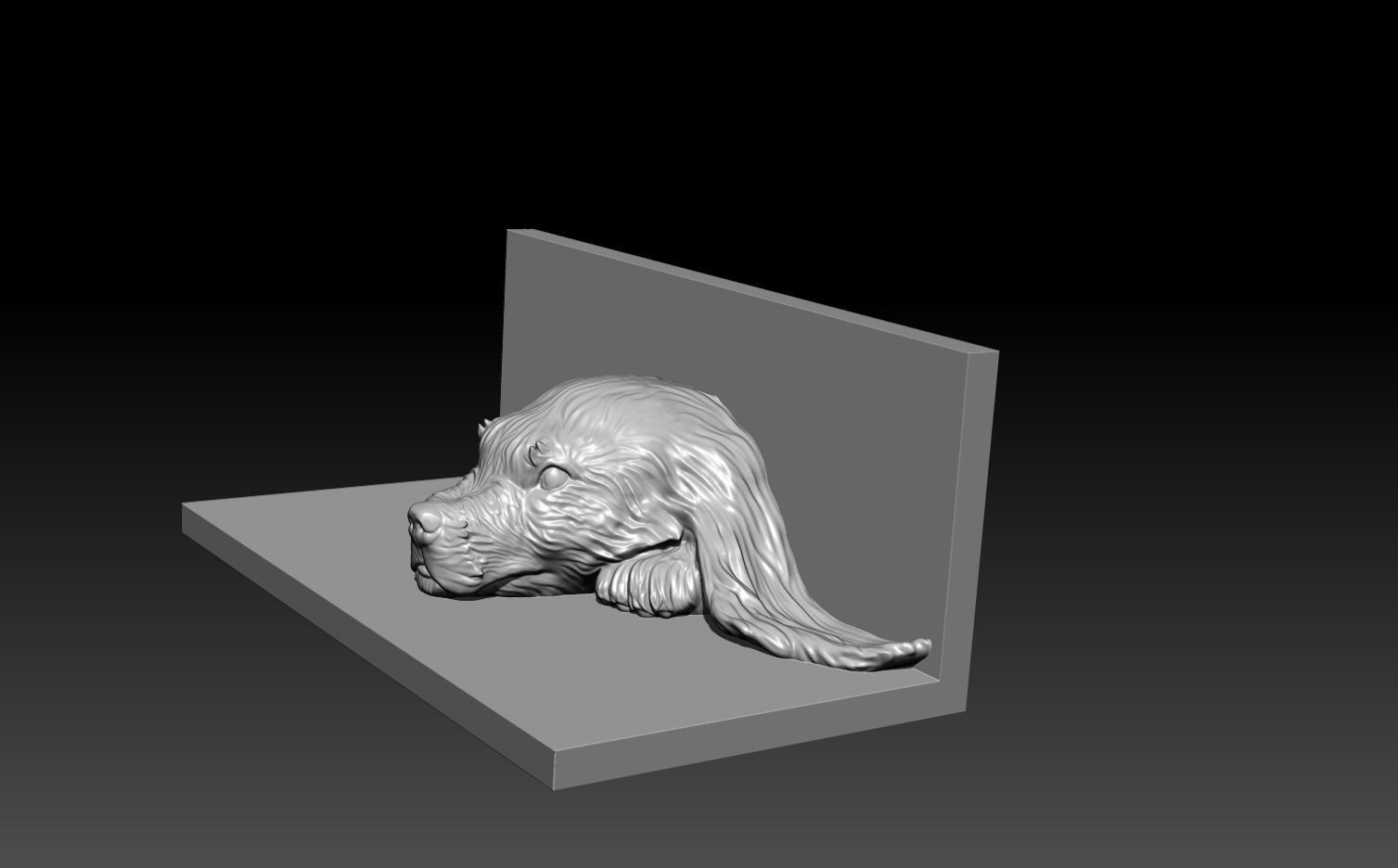 Dog 3d model free 3d model 3d printable obj 3d printer models free