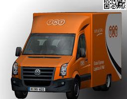 3D asset Volkswagen TNT animated