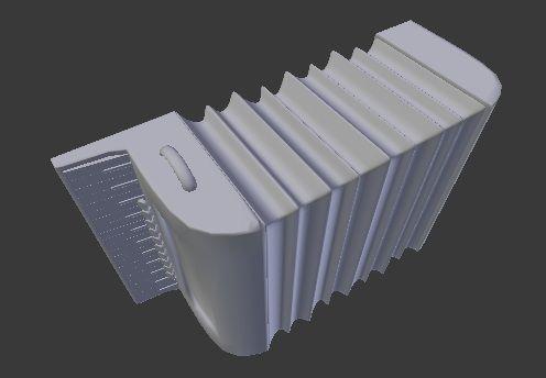 acordeon 3d model obj mtl 1